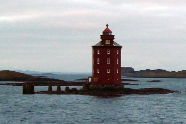 Kjeungskjaer Lighthouse (no I can't pronounce it either)