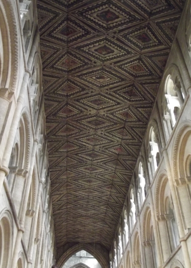 PaintedNaveCeilingPeterborough
