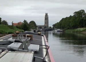 View of the Boston Stump as you come into town on the Witham