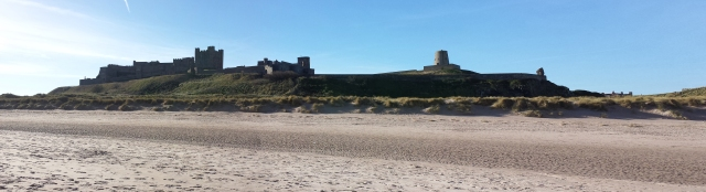 Bamburgh Castle Panorama