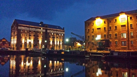 GloucesterDocksNight