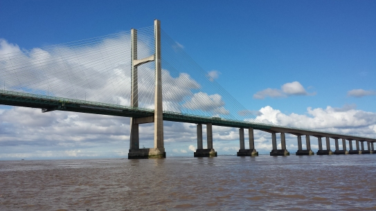 The old Severn Bridge seems much more solid