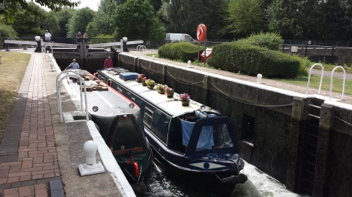 BoatsInLock