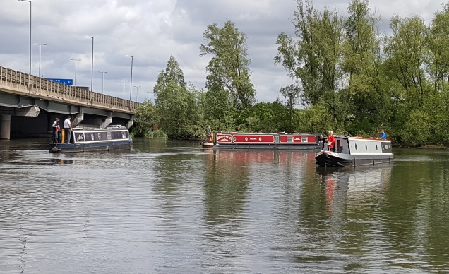 TitfordLargerPoolthreeboats
